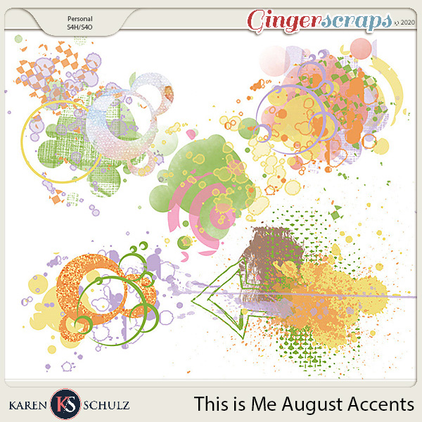 This is Me August Accents by Karen Schulz