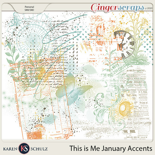This is Me January Accents by Karen Schulz