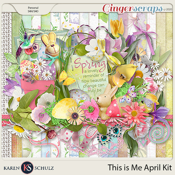 This is Me April Kit by Snickerdoodle Designs