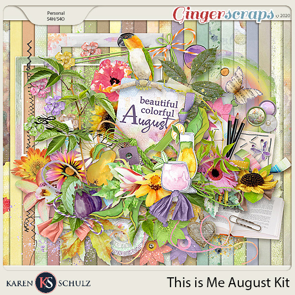 This is Me August Kit by Karen Schulz