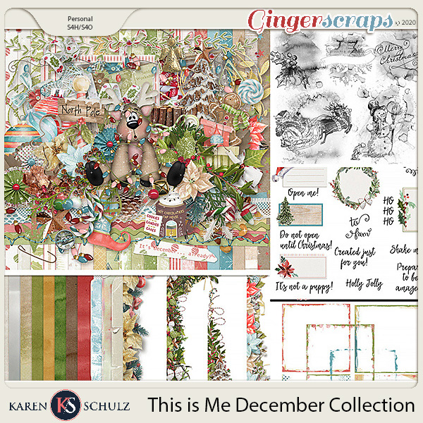 This is Me December Collection by Snickerdoodle Designs