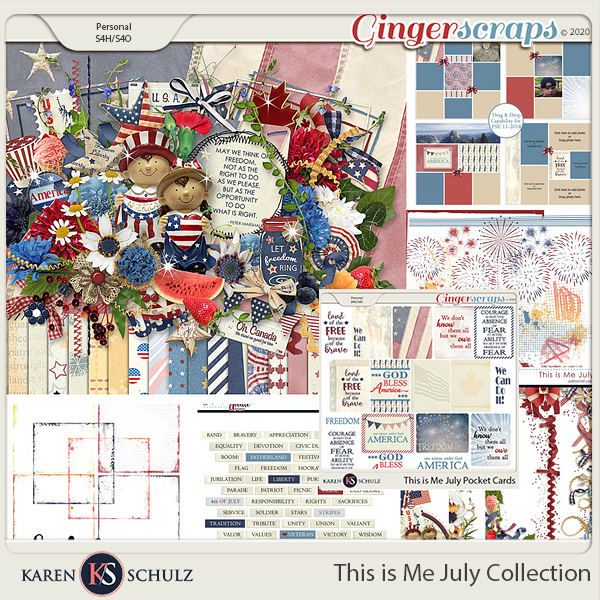This is Me July Collection by Karen Schulz