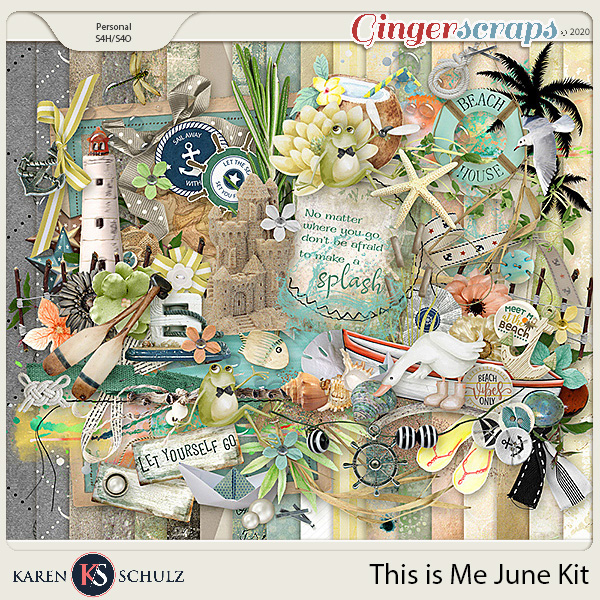 This is Me June Kit by Snickerdoodle Designs