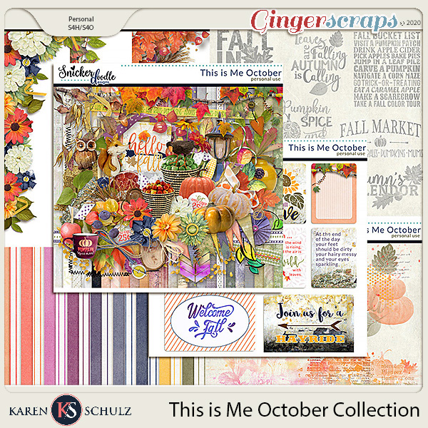 This is Me October Collection by Snickerdoodle Designs