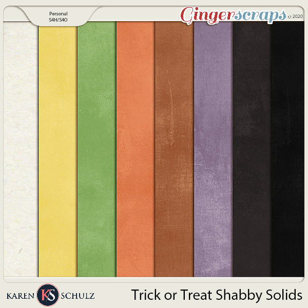 Trick or Treat Shabby Solids by Karen Schulz