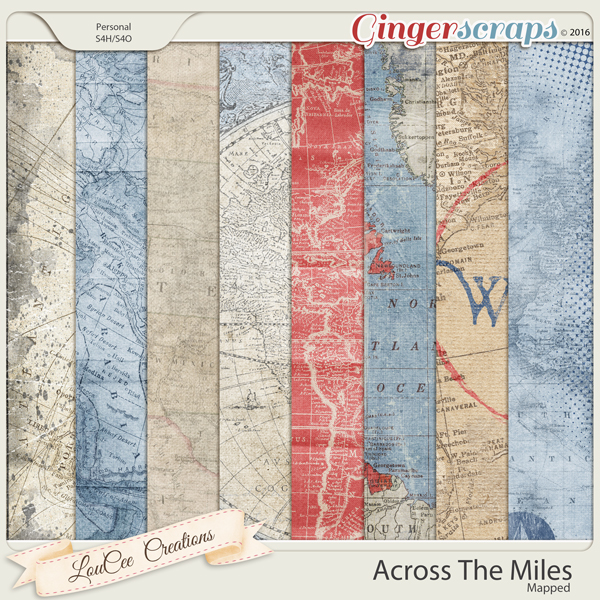 Across The Miles : Mapped