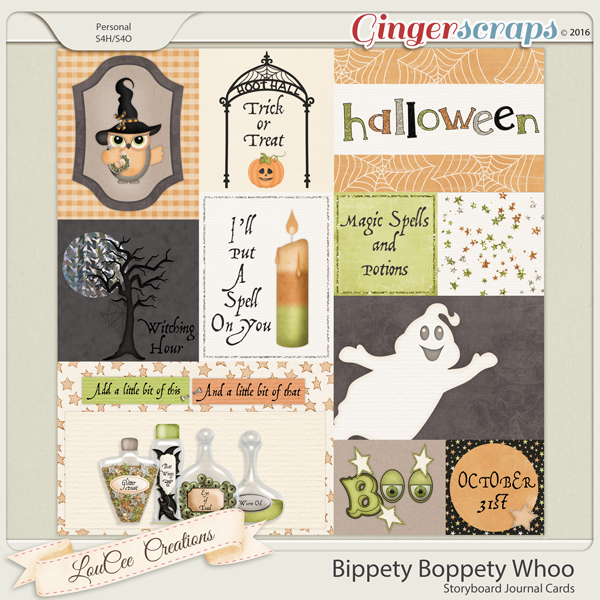 Bippety Boppity Whoo Storyboard Cards