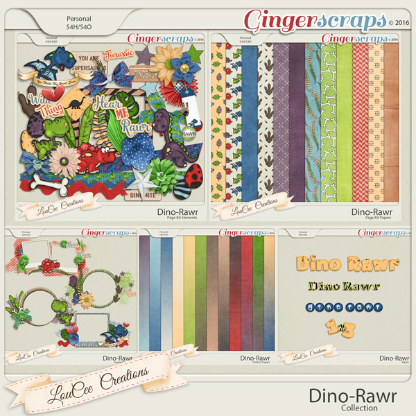 Dino Rawr Collection