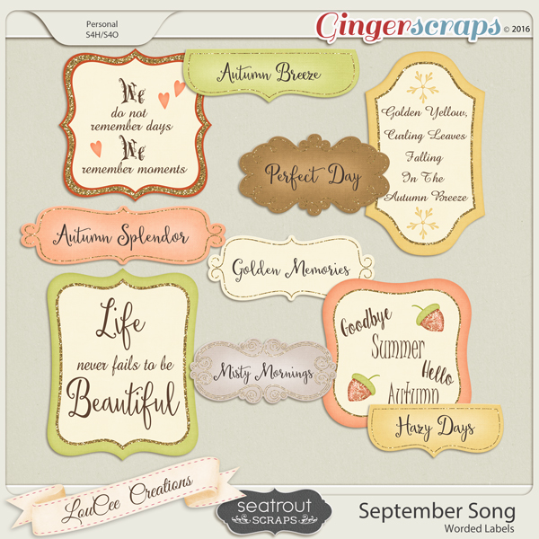 September Song Labels