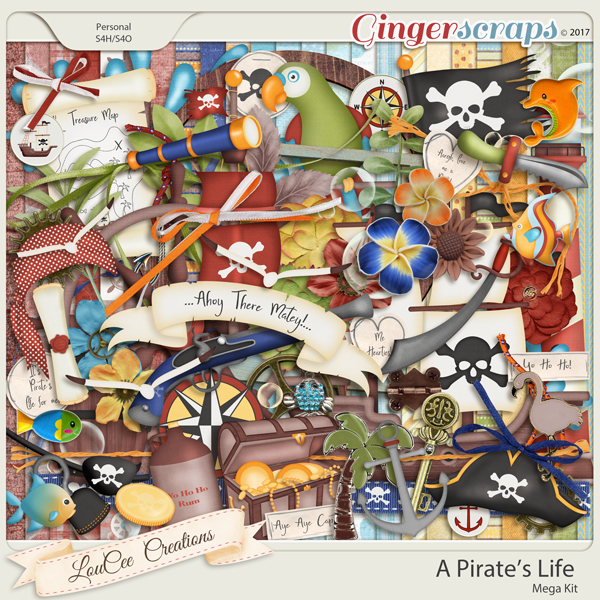 A Pirates Life Mega Kit by LouCee Creations
