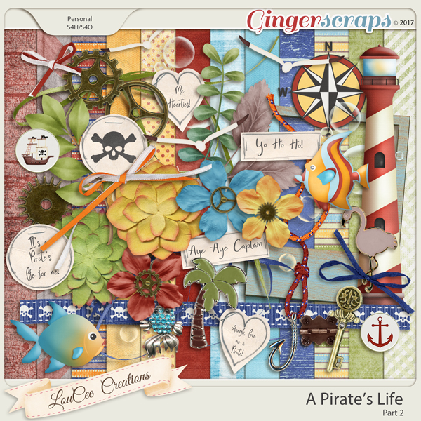 A Pirate's Life Part 2 by LouCee Creations