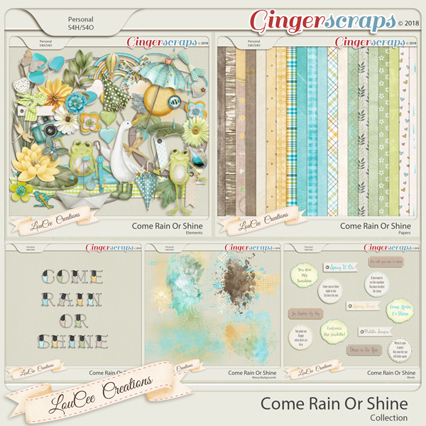 Come Rain Or Shine Collection by LouCee Creations