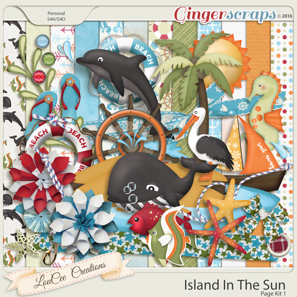 Island In The Sun Page Kit 1