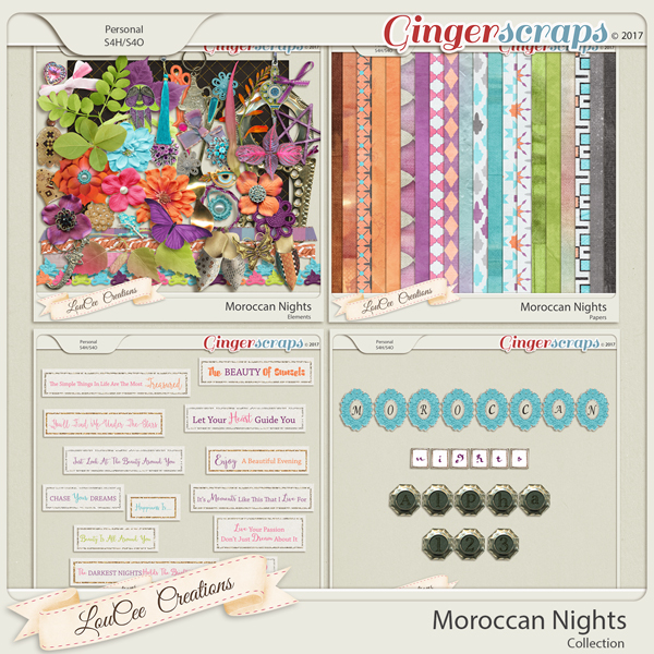 Moroccan Nights Collection by LouCee Creations