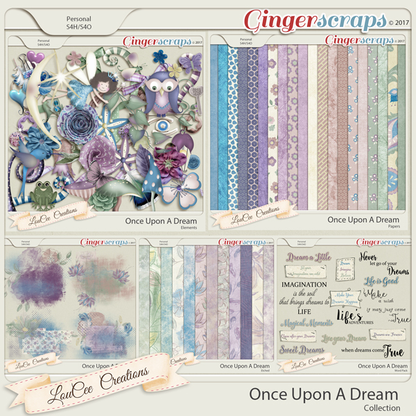 Once Upon A Dream Collection by LouCee Creations