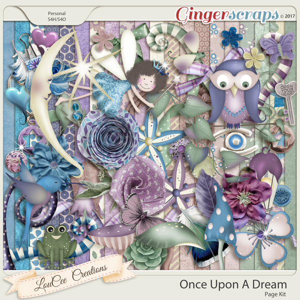 Once Upon A Dream Page Kit by LouCee Creations