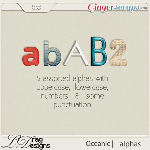 Oceanic: Alphas by LDragDesigns