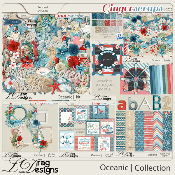Oceanic: The Collection by LDragDesigns