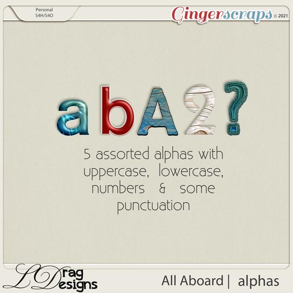 All Aboard: Alphas by LDragDesigns