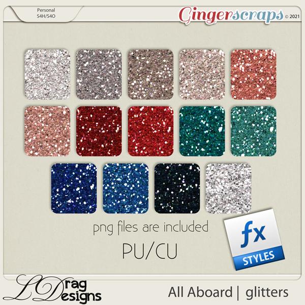 All Aboard: Glitterstyles by LDragDesigns