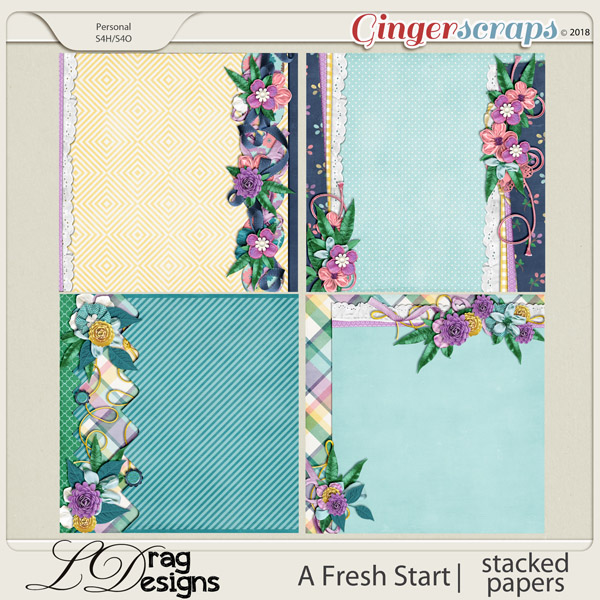 A Fresh Start: Stacked Papers by LDragDesigns
