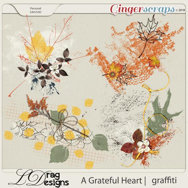 A Grateful Heart: Graffiti by LDragDesigns
