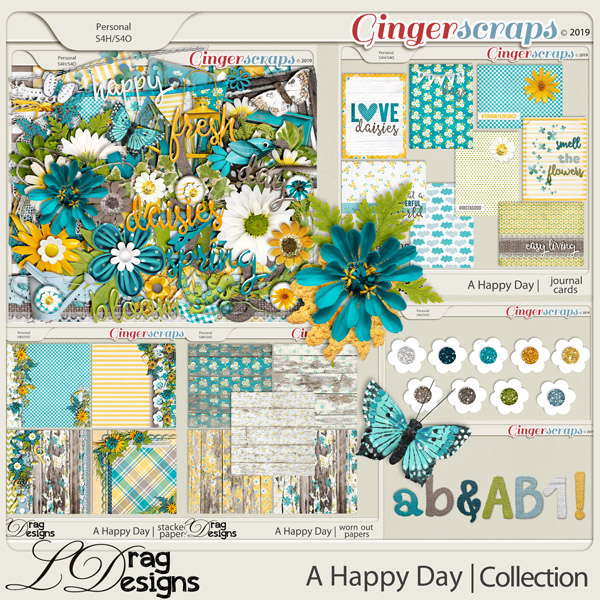 A Happy Day: The Collection by LDragDesigns