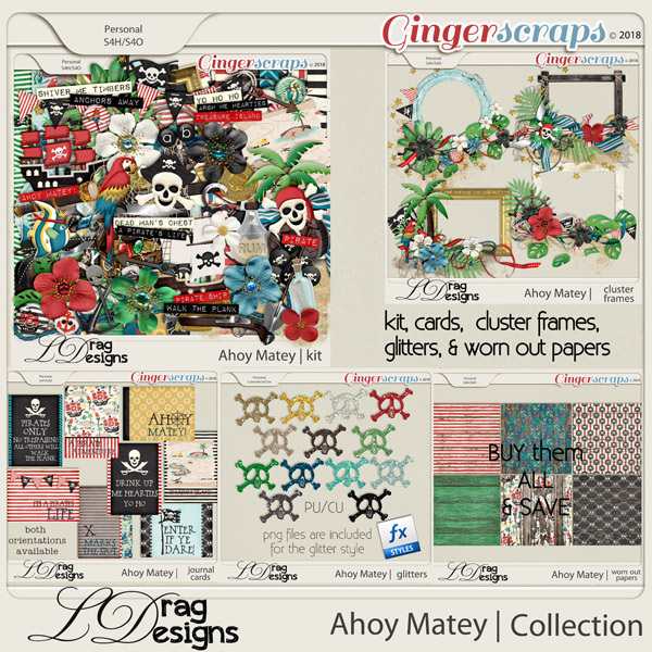 Ahoy Matey: The Collection by LDragDesigns