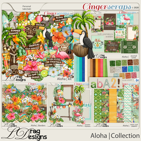 Aloha: The Collection by LDragDesigns