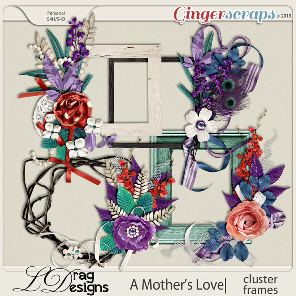 A Mother's Love: Cluster Frames by LDragDesigns