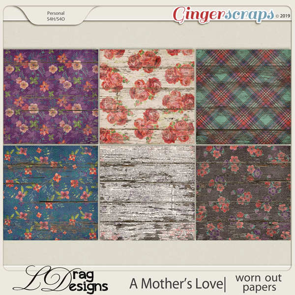 A Mother's Love: Worn Out Papers by LDragDesigns