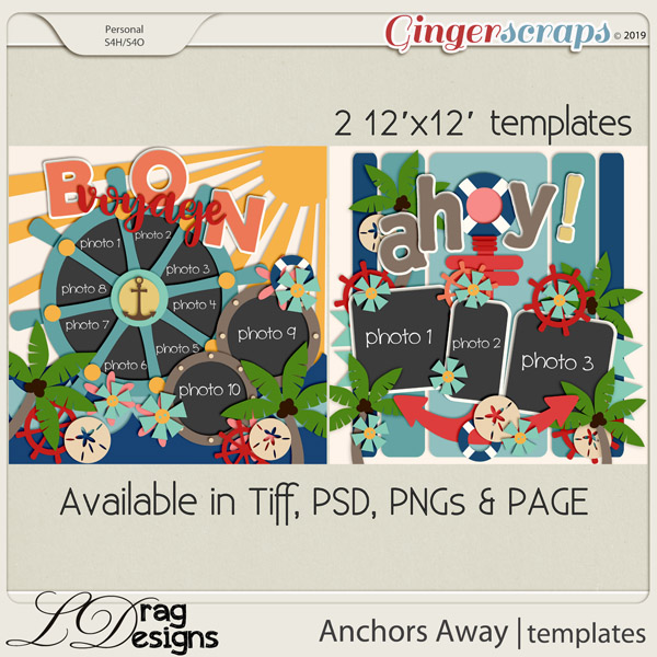 Anchors Away Templates by LDragDesigns