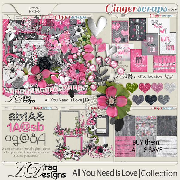All You Need Is Love: The Collection by LDragDesigns