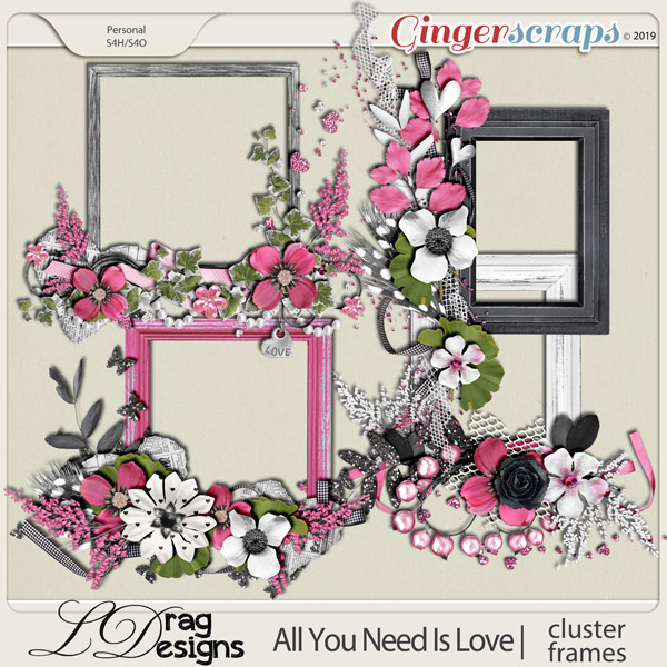 All You Need Is Love: Cluster Frames by LDragDesigns