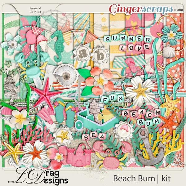 Beach Bum by LDragDesigns