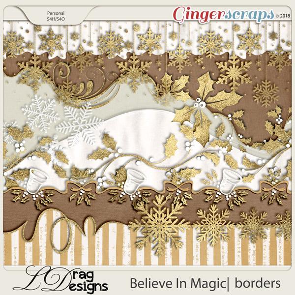 Believe In Magic: Borders by LDragDesigns