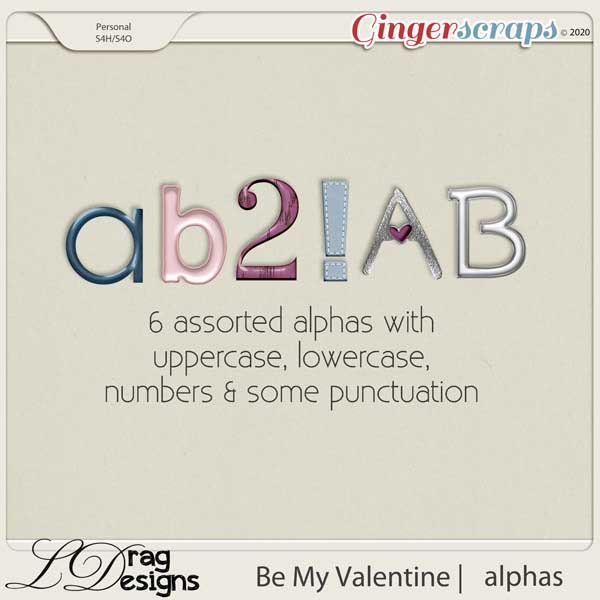 Be My Valentine: Alphas by LDragDesigns