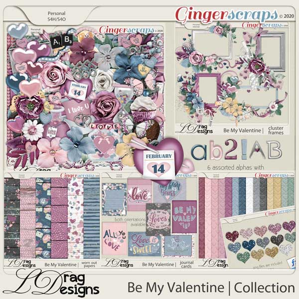 Be My Valentine: The Collection by LDragDesigns