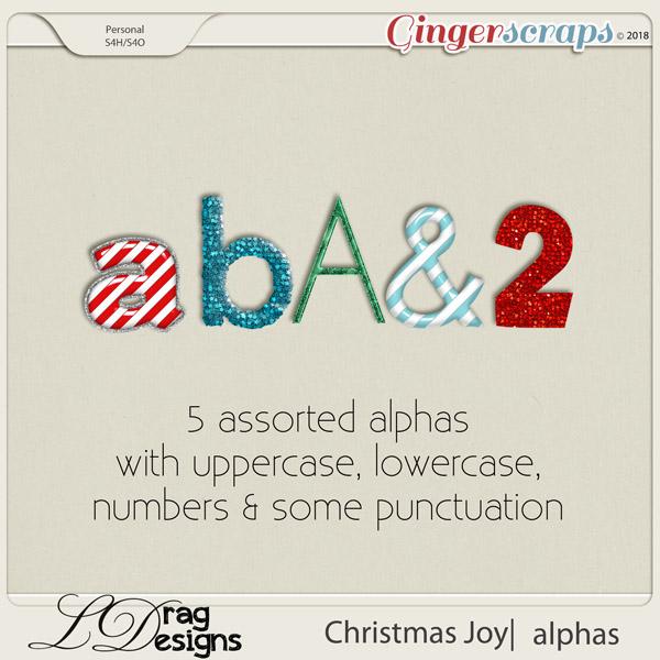 Christmas Joy: Alphas by LDragDesigns