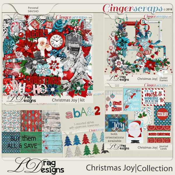 Christmas Joy: The Collection by LDragDesigns