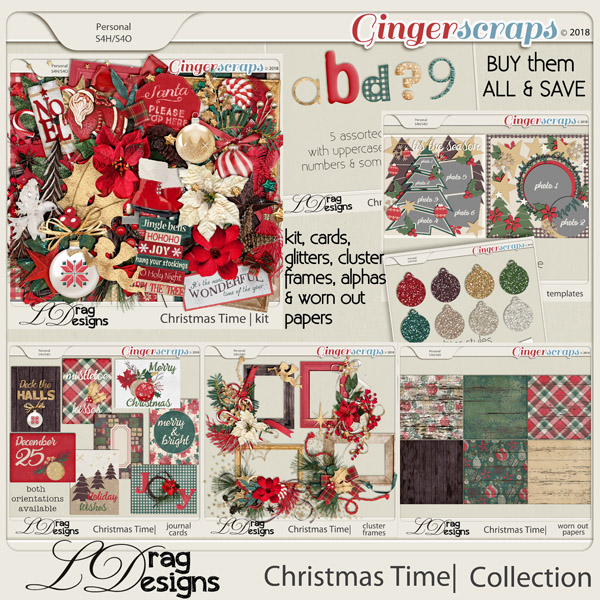 Christmas Time:The Collection by LDragDesigns