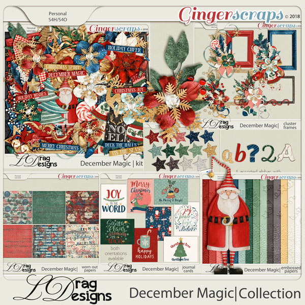 December Magic: The Collection by LDragDesigns