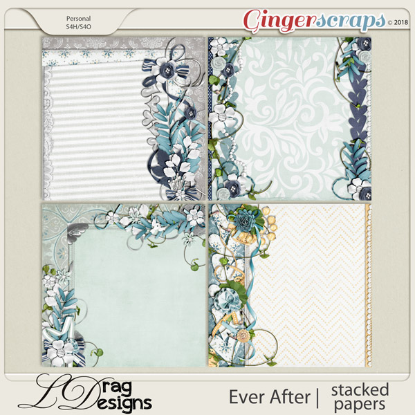 Ever After: Stacked Papers by LDrag Designs