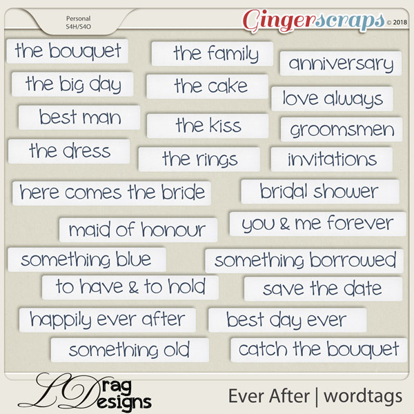 Ever After: Wordtags by LDragDesigns