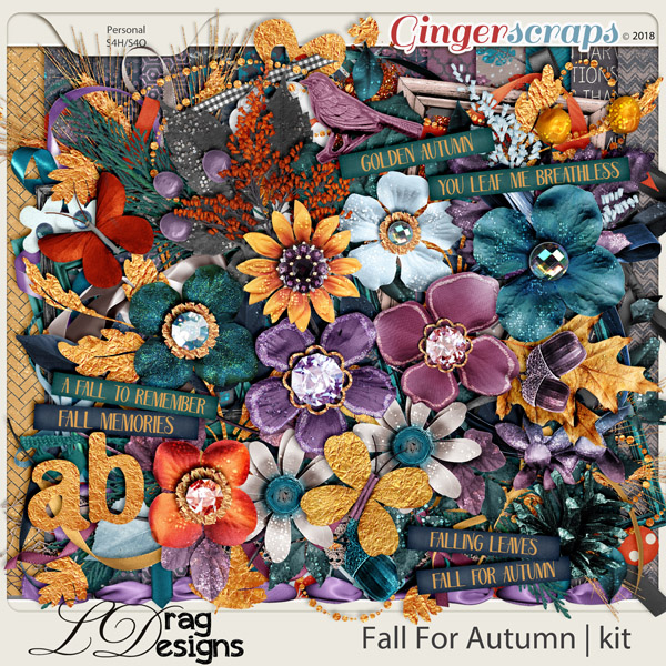 Fall For Autumn by LDrag Designs