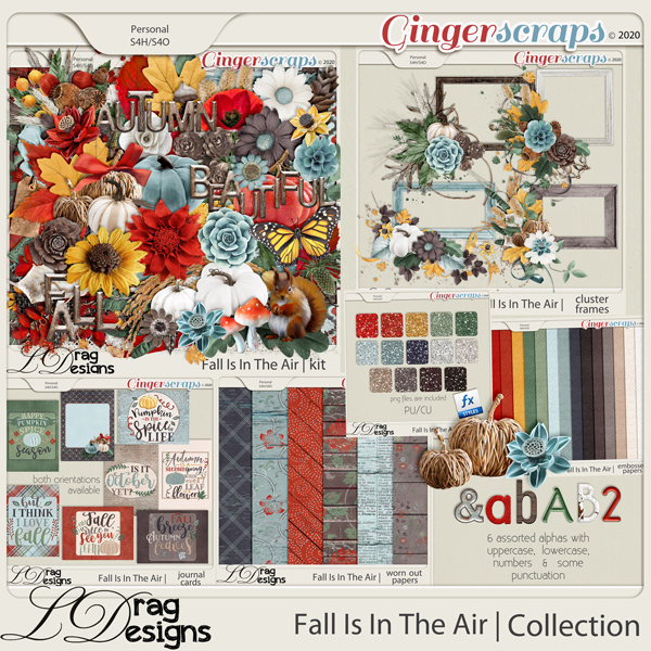 Fall Is In The Air: The Collection by LDragDesigns