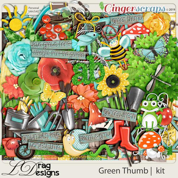 Green Thumb by LDragDesigns