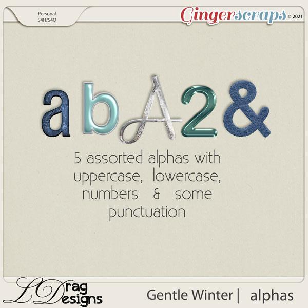 Gentle Winter: Alphas by LDragDesigns