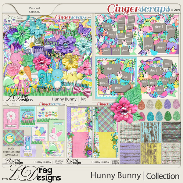 Hunny Bunny: The Collection by LDragDesigns