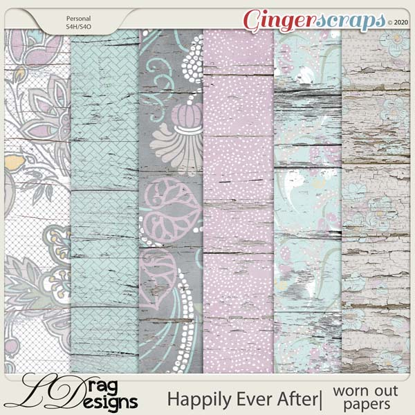 Happily Ever After: Worn Out Papers by LDragDesigns